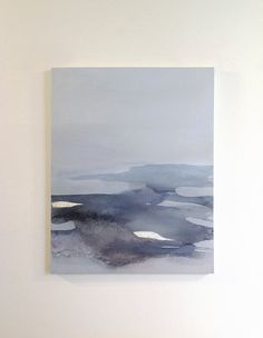 Paysage peinture Original Art sur toile / grand par SabrinaGarrasi