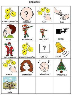 Pro Šíšu: Básničky i pro autíky Music For Kids, Christmas Crafts, Language, Teaching, Education, Sewing, School, Autism, Dressmaking