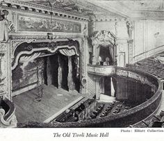 Old Tivoli Theatre, Cape Town. Scanned from Curtain Up by Olga Racster. Tivoli Theater, Theatres, Back In Time, Historical Pictures, African History, Cape Town, Old Houses, Old Photos, South Africa