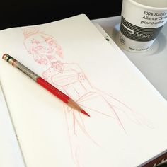 A little airplane #doodling on my way to LA - still a long way to go. #CTNX #ctnexpo #doodle #sketch #girlsinanimation by pernilleoerum