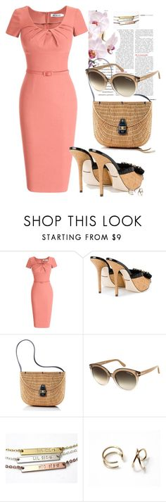 """""""Pencil Dress"""" by treasury ❤ liked on Polyvore featuring Dolce&Gabbana, Mark & Graham, Tom Ford and vintage"""