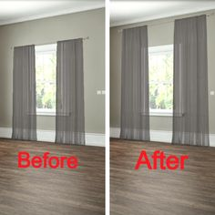 Curtains That Let In Light But Give Privacy O2 Pilates