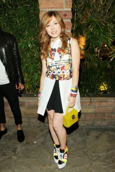 Jennette McCurdy attends the Nylon + BCBGeneration May Young Hollywood Party at Hollywood Roosevelt Hotel on May 8, 2014 in Hollywood, California.