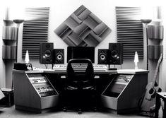 - Produce a Music Track (Strange Pumpkin Studio - Music Production & Recordin. - - Produce a Music Track (Strange Pumpkin Studio - Music Production & Recording Studio) Audio Studio, Music Studio Room, Sound Studio, Home Studio Setup, Studio Desk, Dream Studio, Studio Foam, Recording Studio Design, Recording Studio Furniture