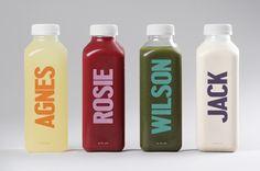 25 Fresh Juice Packaging Examples - From Simplistic Beverage Branding to Botanical Juice Bottles (TOPLIST) Juice Branding, Juice Packaging, Simple Packaging, Beverage Packaging, Bottle Packaging, Brand Packaging, Packaging Ideas, Bottle Labels, Branding Agency