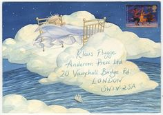 Susan Varley was taught by Tony Ross. One of her most popular books is Badger's Parting Gifts which won a Mother Goose Award in Mail Art Envelope Lettering, Envelope Art, Brush Lettering, Mail Art Envelopes, Fun Mail, Decorated Envelopes, Postcard Art, Land Art, Letter Art