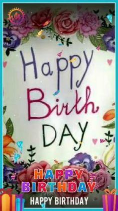 Birthday Songs Video, Happy Birthday Video, Cute Happy Birthday, Happy Birthday Greetings Friends, Happy Birthday Wishes Photos, Birthday Wishes For Friend, Happy Birthday Love Images, Birthday Images, Birthday Quotes