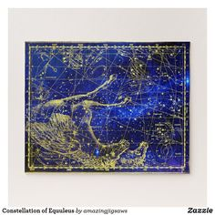 Constellation of Equuleus Jigsaw Puzzle