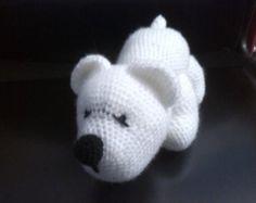 little polar bear por HappyPDFCrafts en Etsy