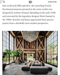 Modern Barn House, Neoclassical, Architect Design, New Builds, Mansions, Building, Neoclassical Architecture, Manor Houses, Villas