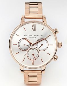 Wowsers! This is GORGEOUS xxx Just seen that it seems to be sold out EVERYWHERE :-( But this one is quite similar and still gorgeous - http://www.oliviaburton.com/chrono-detail-c16/big-dial-chrono-dot-detail-rose-gold-bracelet-p131 Olivia Burton Chronograph Detail Copper Watch