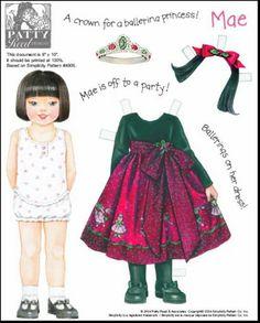 Amy,Kayla,Keesha,Kendra,Mae,Nan,Patty,Samantha Paper Dolls.This From Pitaove2 - Yakira Chandrani - Picasa Web Albums  Based on Simplicity Patterns