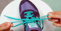 This trick can help everyone. Tie your shoes in 2 seconds