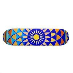 Mandala skateboard - Symbol of perfections.  See more skateboard designs in my Zazzle shop: www.Zazzle.com/WitchesHammer