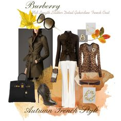 """""""Autumn Trench Style"""" by micaxoxo on Polyvore"""