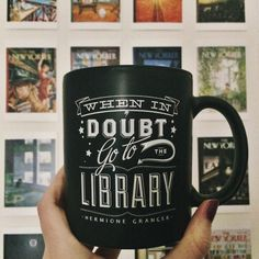 When in doubt, go to the library!