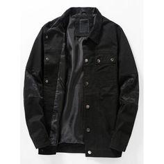 #Rosewholesale - #Rosewholesale Turndown Collar Camouflage Panel Fatigue Jacket - AdoreWe.com