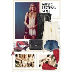 #Coachella Style with #Botkier on #Polyvore