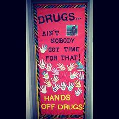 North Oldham Middle School PTSA: Red Ribbon Week Door ...