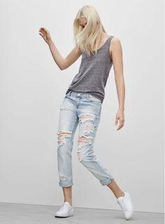 whisper blog: destroyed jeans @whisperbysara