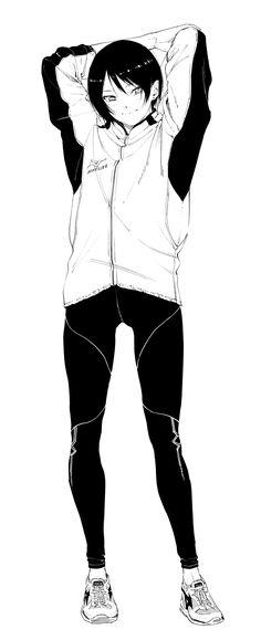 Read Senpai×Kouhai Chapter - About the relationship between a senpai and a kouhai. Comic Manga, Anime Comics, Character Design References, Character Art, Manga Art, Anime Manga, Anime Lineart, Monochromatic Art, Animation Storyboard