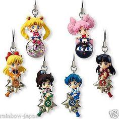 Twinkle Dolly Sailor Moon complete set BANDAI Mascot JAPAN – Sakura-Rainbow