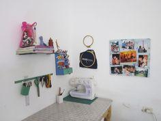 Remodelando mi escritorio! Sewing corner, sewing room DIY.