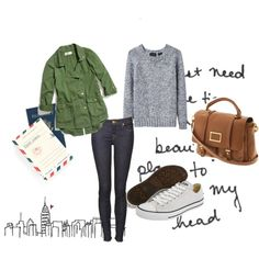 traveling casual - jeans, sweater, tennies