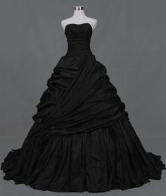 CHIQ | Gothic Black Wedding Dress