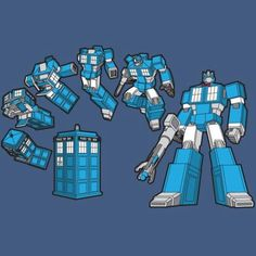 Doctor Who + Transformers = TARDIS Prime