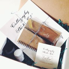 Calligraphy Starter Kit by LHCalligraphy on Etsy