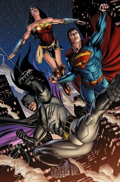 Superman Unchained Bryan Hitch Wrap Variant DC New 52 - Ultimate Comics Dc Comics Characters, Dc Comics Art, Book Characters, Marvel E Dc, Marvel Comics, Comic Book Artists, Comic Books, The New Teen Titans, Dc Trinity