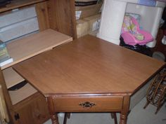 Corner Table in Ramttid's Garage Sale in Greenwood , IN for $15. Corner table with drawer