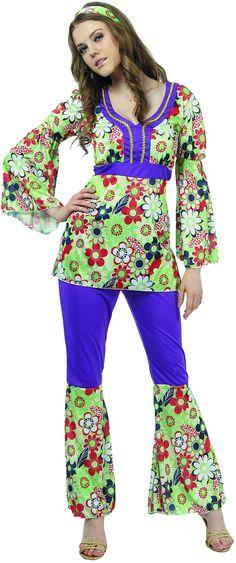 tunique hippie femme Flower Power, ça va vous faire aimer la nature !