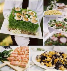 Real Weddings: Natural & Organic-Inspired Wedding Reception // Hostess with the Mostess® Food Inspiration, Wedding Inspiration, Wedding Ideas, Wedding Decor, Strawberry Baby, Food Garnishes, Garnishing, Reception Party, Sustainable Food