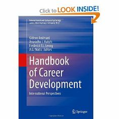 Career development Picture taken from Amazon