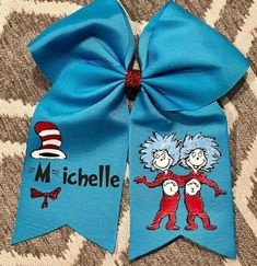 Handmade Girls Lady and the Tramp Hair Bow Clips sold in Pairs On Croc Clips
