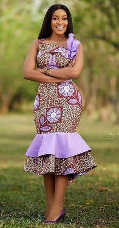 African Wear Dresses, African Fashion Ankara, Latest African Fashion Dresses, African Print Fashion, African Attire, Ankara Dress Designs, Ankara Gown Styles, African Fashion Traditional, African Print Jumpsuit