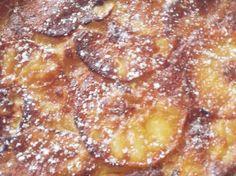 Gâteau invisible aux pommes, facile et pas cher