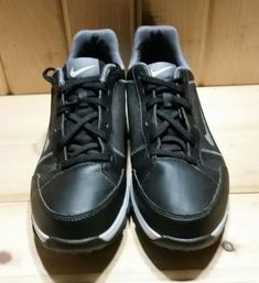 official photos a83e0 1e31e (eBay link) Nike Golf Shoes Youth Size 5Y Black Nike Power Channel Shoes