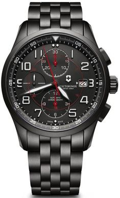 @vxswissarmy Watch Airboss Black Edition #add-content #bezel-fixed #bracelet-strap-black-pvd #brand-victorinox-swiss-army #case-material-black-pvd #case-width-42mm #chronograph-yes #classic #date-yes #delivery-timescale-1-2-weeks #dial-colour-black #gender-mens #movement-automatic #new-product-yes #official-stockist-for-victorinox-swiss-army-watches #packaging-victorinox-swiss-army-watch-packaging #style-sports #subcat-airboss #supplier-model-no-241741 #warranty-victorinox-swiss-arm...