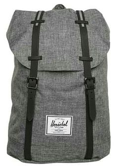 Herschel RETREAT - Rucksack - raven crosshatch black rubber for with free  delivery at Zalando 7b97c162ca137