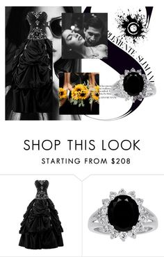"""""""The wedding of Darkness"""" by mickyd-gotskills ❤ liked on Polyvore featuring eFashion"""