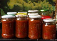 Sos włoski do słoików na zimę Calzone, Preserves, Pickles, Salsa, Cake Recipes, Food And Drink, Jar, Homemade, Drinks