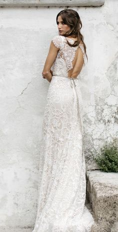 Featured Dress: Tara Lauren; Wedding dress idea.