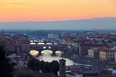 The Ponte Vecchio Florence Italy.  Some of the best jewelry shopping around!