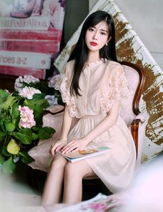 milkcocoa Pretty Korean Girls, Pretty Asian, Japanese Fashion, Asian Fashion, Fashion Pants, Fashion Outfits, Frock Patterns, Gowns For Girls, College Fashion