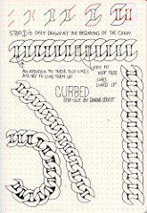 Curbed Tangle Pattern (molossus, who says Life Imitates Doodles) Tags: zentangle zentangleinspiredart tanglepatterns