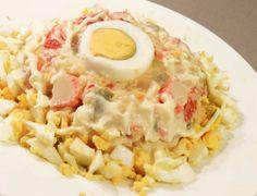 Ensaladilla de cangrejo » Divina CocinaRecetas fáciles, cocina andaluza y del mundo. » Divina Cocina
