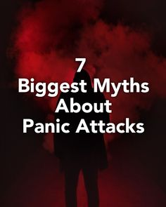 Panic attacks typically begin with a sense of fear and anxiety. Read ahead to learn about common myths about panic attacks. Generalized Anxiety Disorder, Social Anxiety Disorder, Panic Disorder, Agoraphobia, Obsessive Compulsive Disorder, Fear Of Flying, Excessive Sweating, Mental Health Conditions, Common Myths